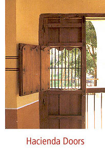 in Mexico with time- honored methods each door is hand- hewn from kiln- dried cedar recreating the texture of old Spanish Colonial doors. Custom & MEXICAN STYLE ::
